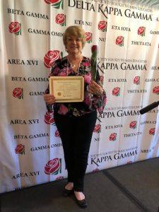Delta Kappa Gamma for Rae Riner